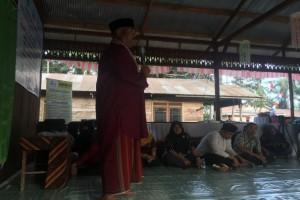 Peresmian Balai Dusun II Tudungan yang juga tempat Sekretariat Bersama