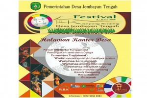 Pembukaan Festival Kampong Seraong Jembayan Tengah Berlangsung Meriah